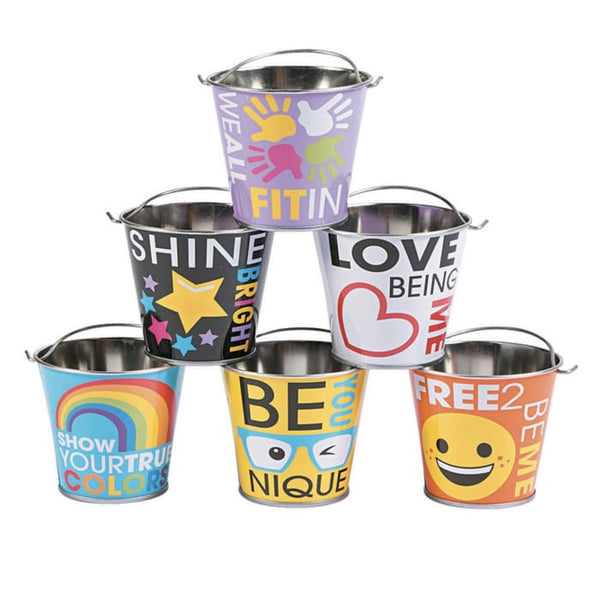 Mini Be You Pails 6 pc set