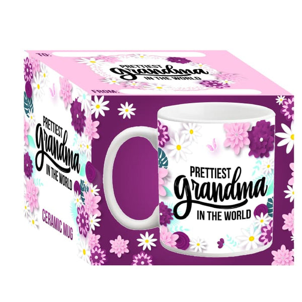 Prettiest Grandma in the World 11 0z Ceramic Mug