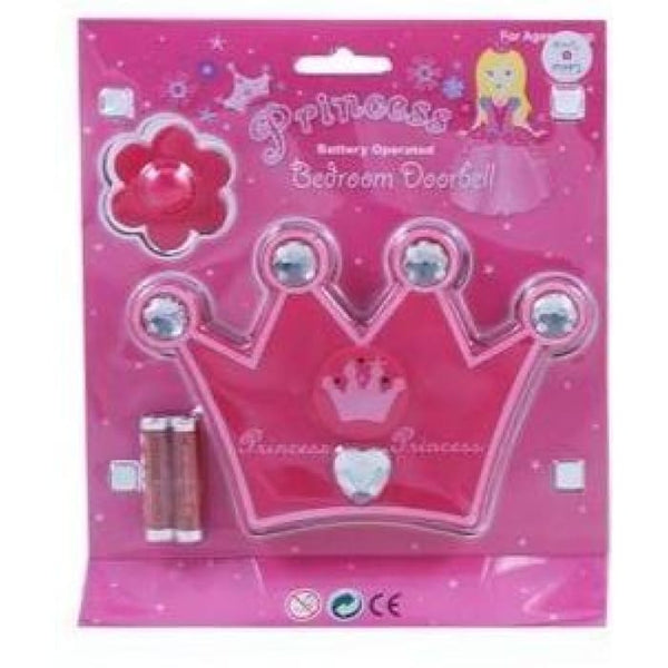 Princess Crown Doorbell by Pink Poppy®