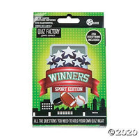 Quiz Factory Game Cards - Winners Sports Edition
