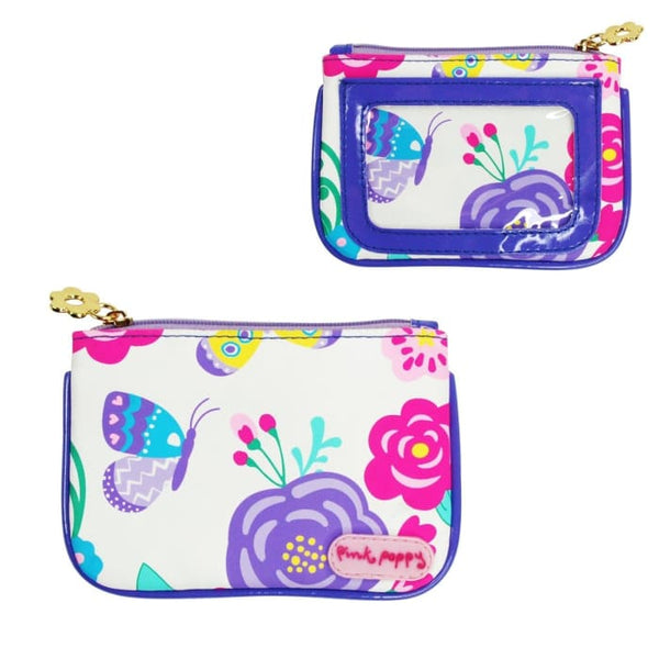 Secret Garden Coin Purse (Lilac) by Pink Poppy®