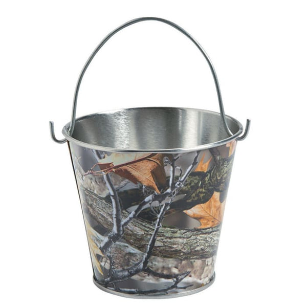 Small Metal Pails Camo - Hunt