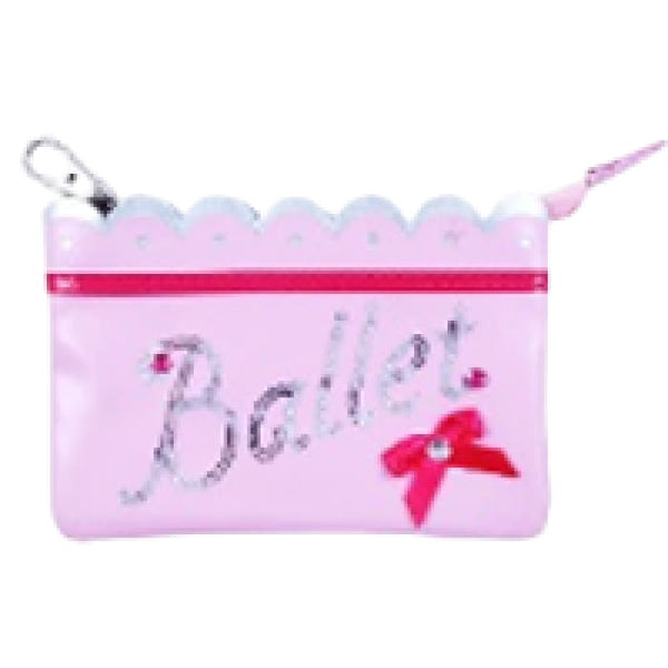 Sparkling Ballet Coin Purse by Pink Poppy®