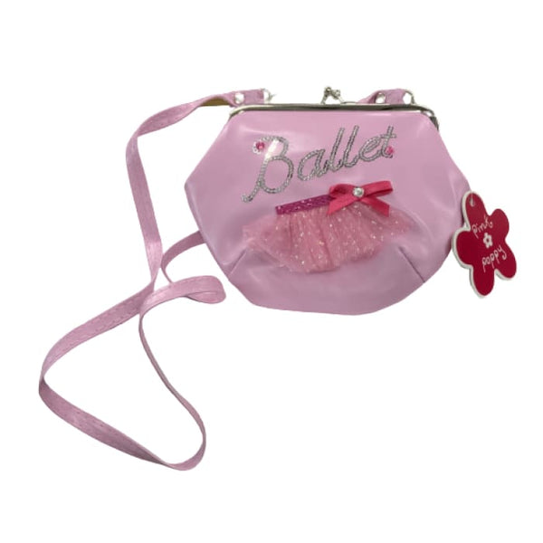 Sparkling Ballet Shoulder Bag by Pink Poppy®