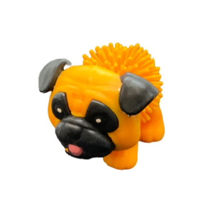 Toy Spiky Pug Dog - Orange