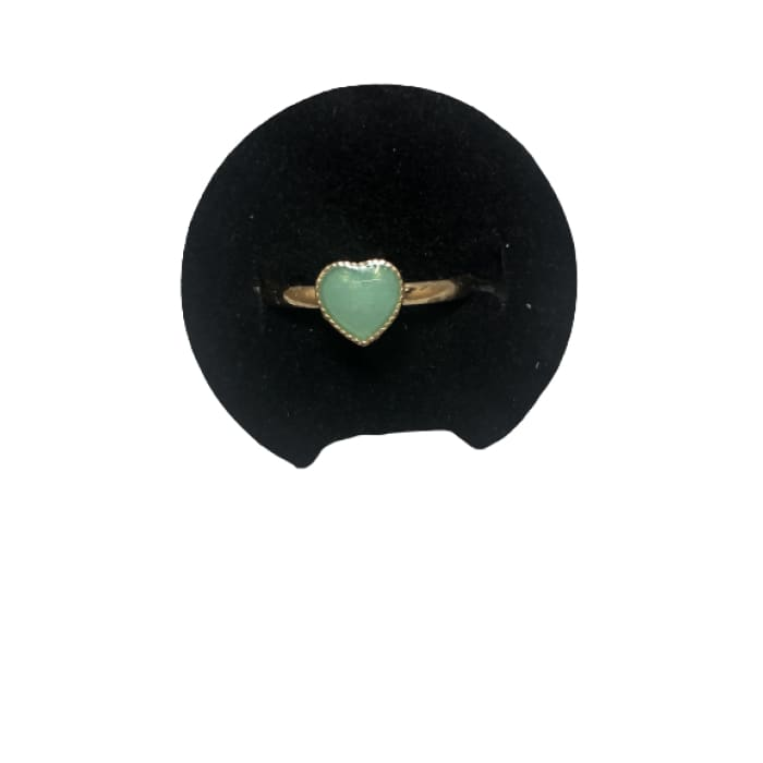 Turquoise-Colored Princess Fashion Rings