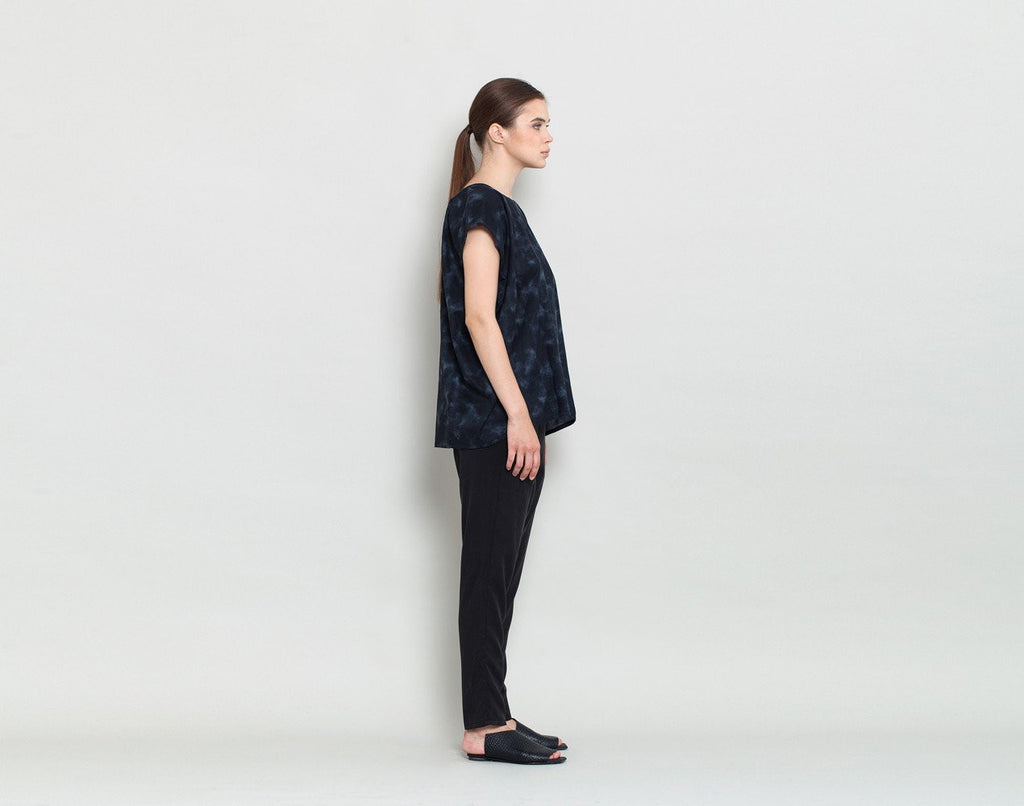Short Sleeve Tunic - KERENVEMICHAL by Michal Nir