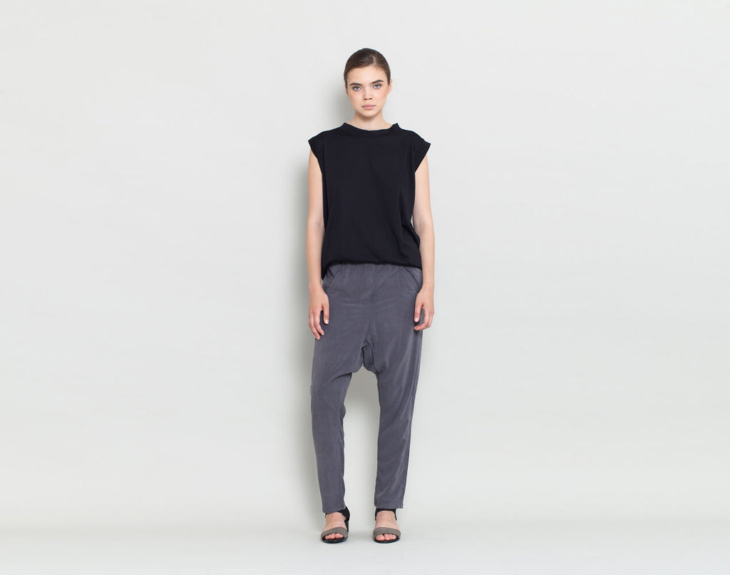 Loose Fitting Pants - KERENVEMICHAL by Michal Nir