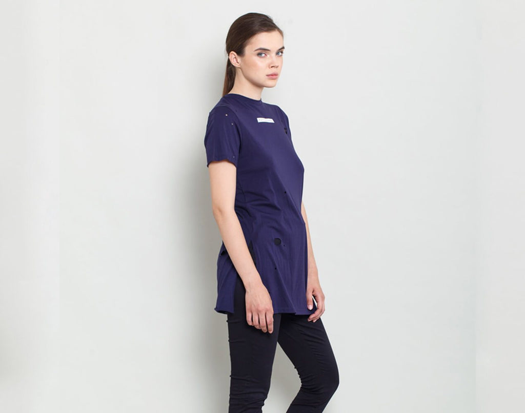 Purple Tee - KERENVEMICHAL by Michal Nir