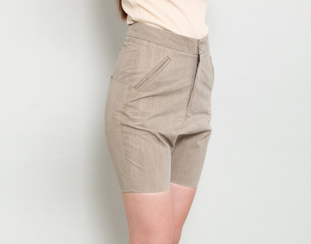 High Waist Shorts - KERENVEMICHAL by Michal Nir