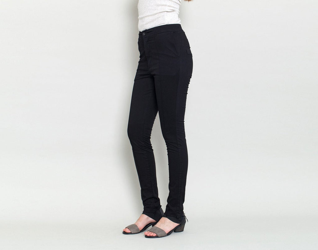 High Waist Trousers - KERENVEMICHAL by Michal Nir
