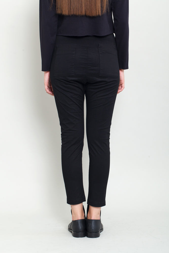 Black Women's Trousers - KERENVEMICHAL by Michal Nir