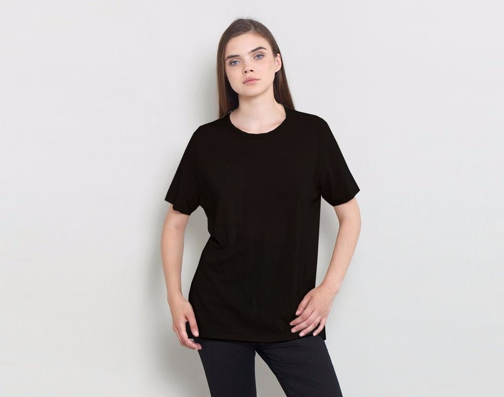 Black Pocket Tee - KERENVEMICHAL by Michal Nir
