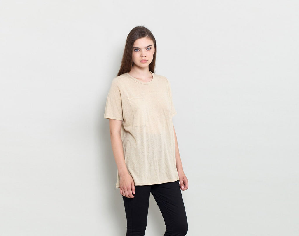 Pocket T Shirt - KERENVEMICHAL by Michal Nir