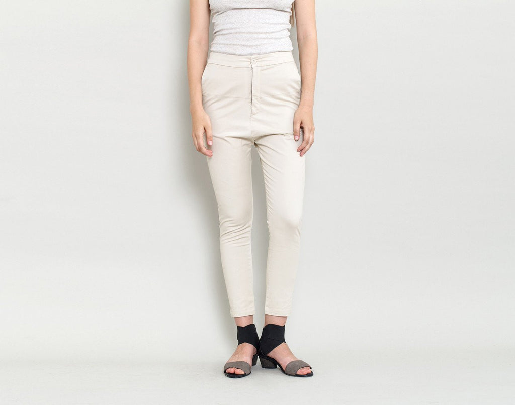 Slim Fit Pants - KERENVEMICHAL by Michal Nir