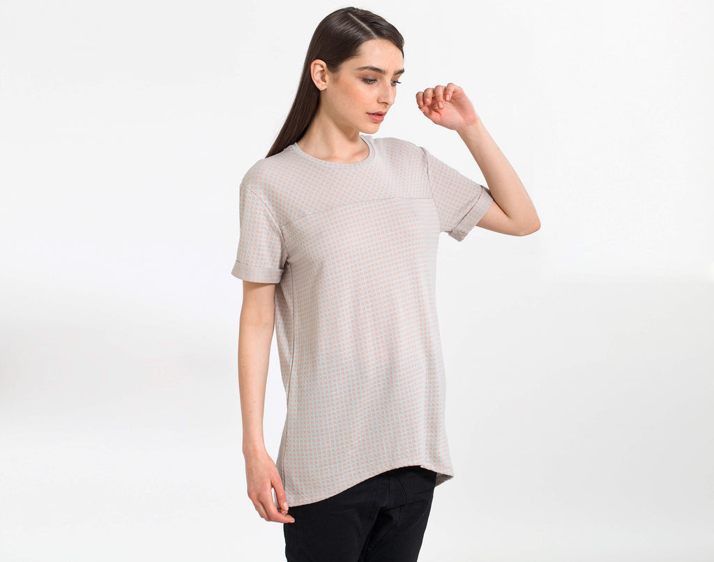 Black Plain Tunic - KERENVEMICHAL by Michal Nir