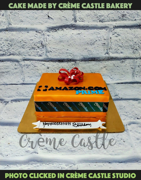Amazon Package Cake