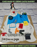 A cake for a boy who likes to chill in his own world. Netflix, gadgets, gaming, sleep and what not. Now he is getting married and its congratulatory call. Ahem Ahem. A best cake for your special one.