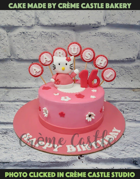 Hello Kitty 3D Cake