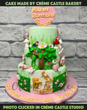 Fairyland Theme Cake