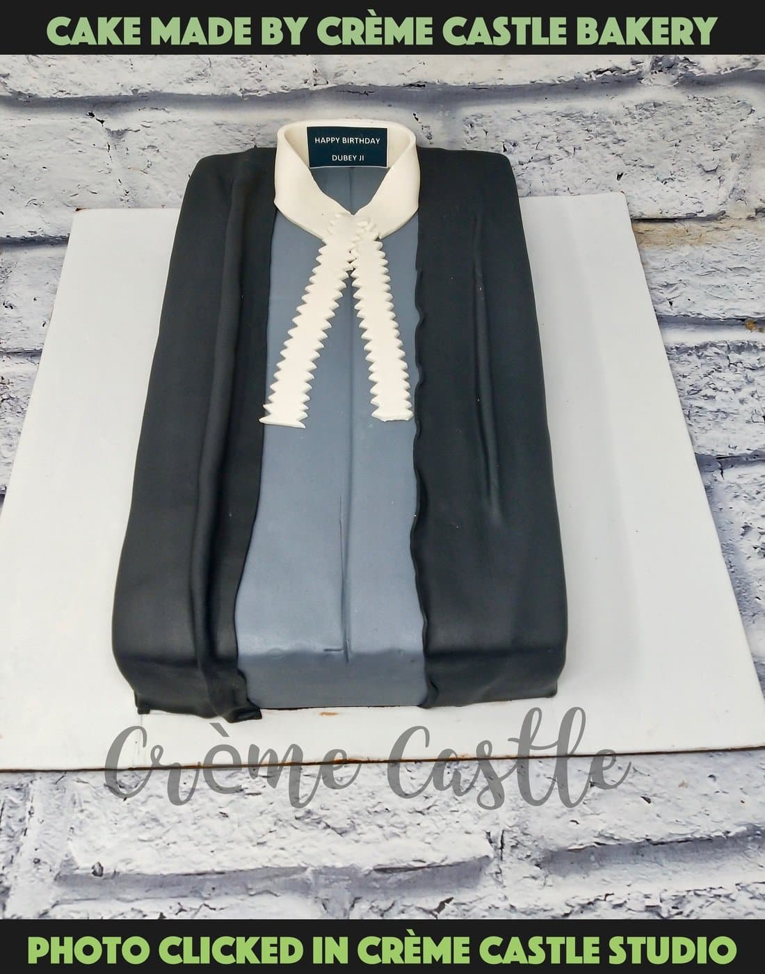 Lawyer Robe Theme Cake