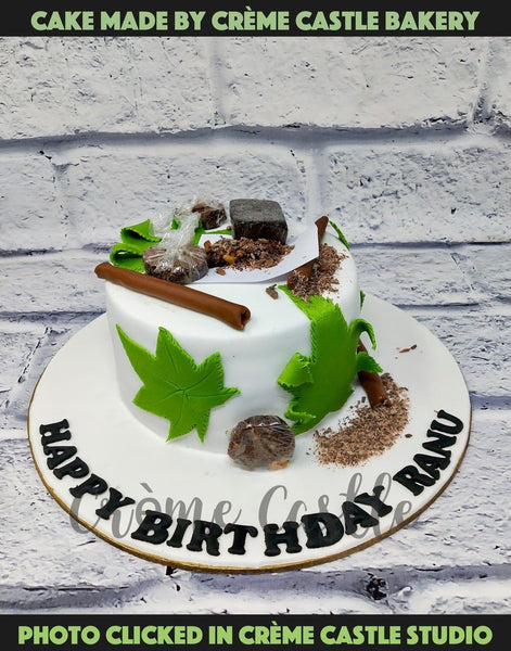 Smoking Pot Cake