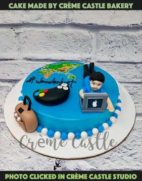 Working Gamer Cake