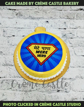 Hero Fathers Day Cake