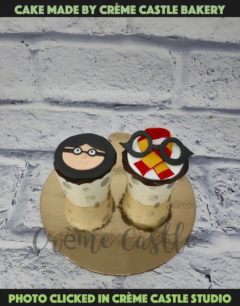 Harry Potter cupcakes for someone who is a Potterhead for life