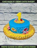 Baby Shark Crumbs Cake