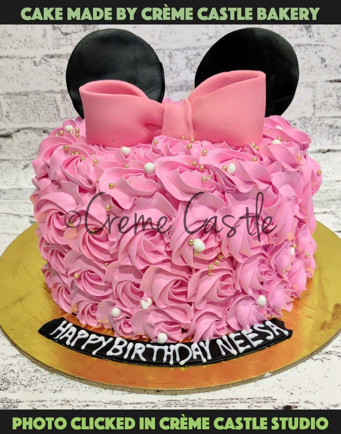 Rose theme with bow - cremecastle