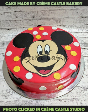 Mickey mouse theme with red base - cremecastle