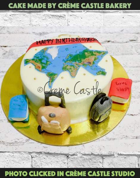 Hitchhiker cake - cremecastle