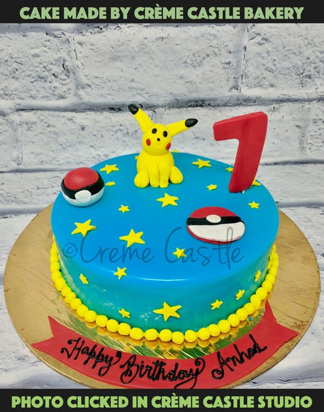 Pokemon Cake 4 - cremecastle