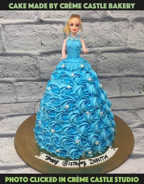 Barbie Cake - cremecastle