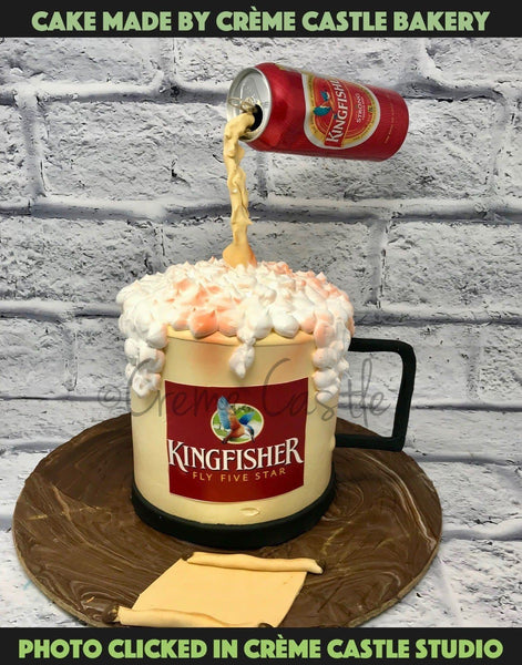 Beer Gravity Cake - cremecastle