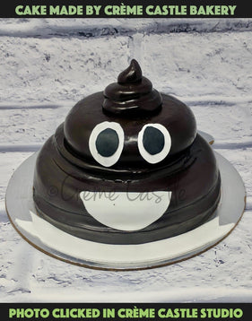 Turd Shape Cake - cremecastle