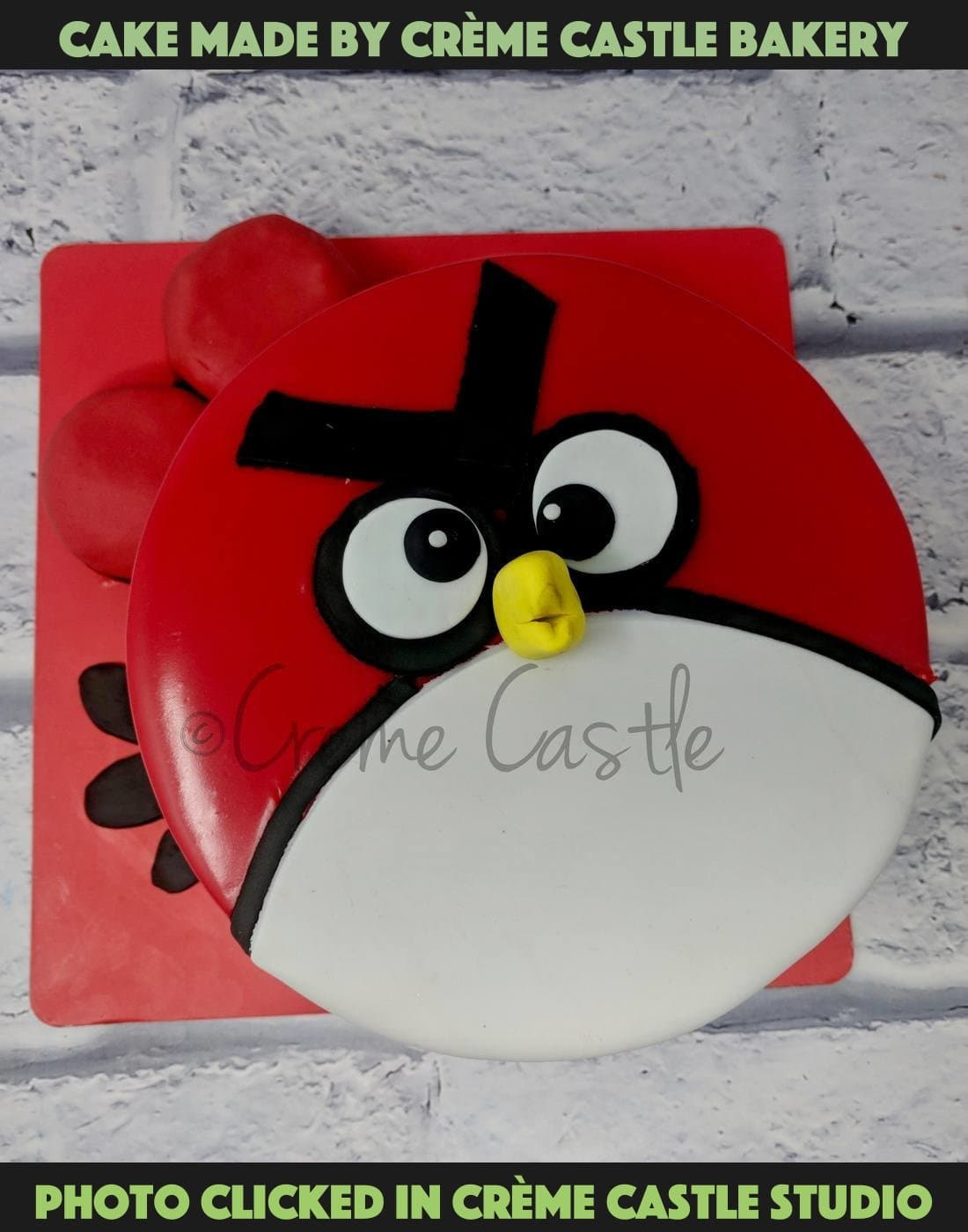 Red Angry Bird - cremecastle