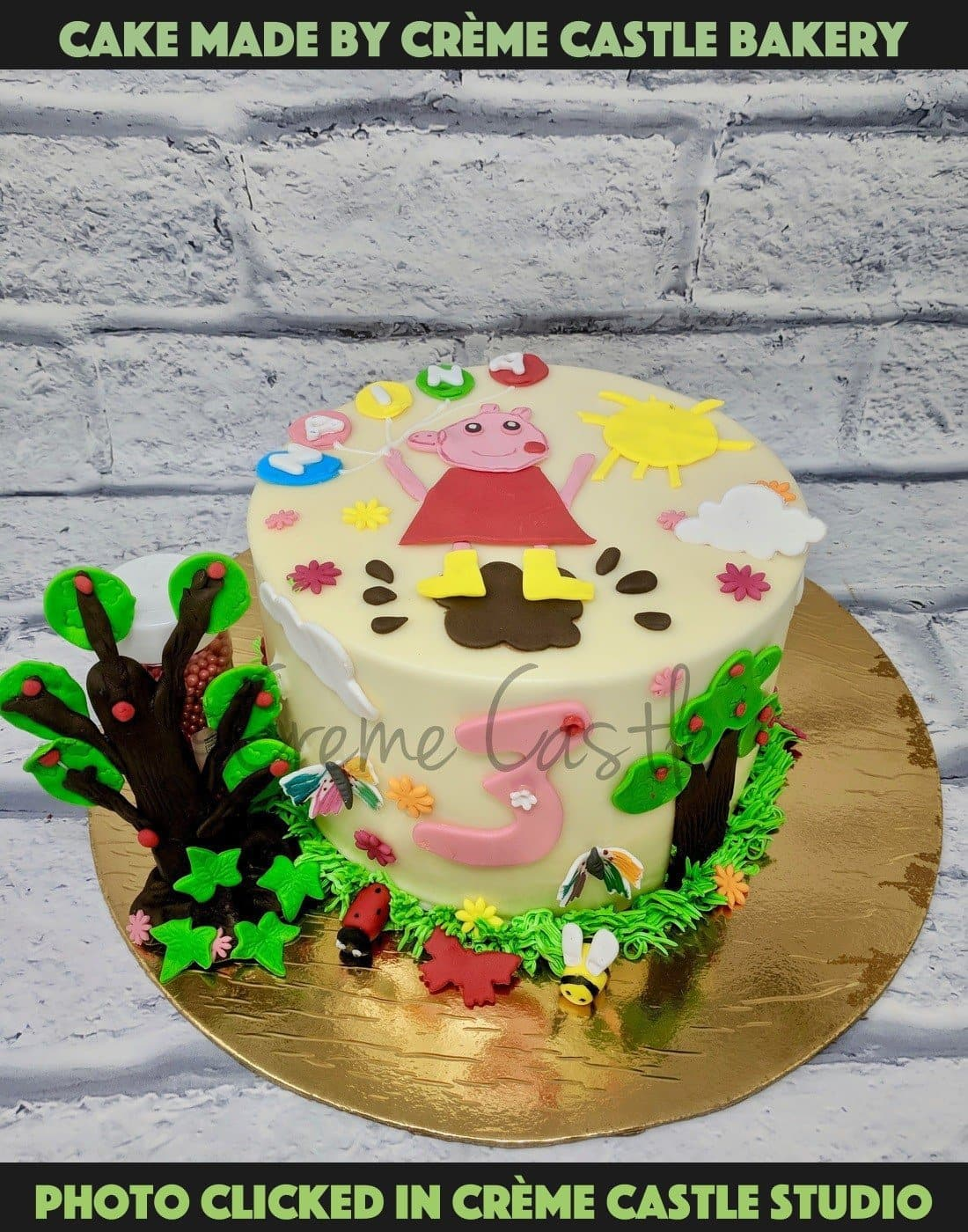 Kids Birthday Cake | Cake For Daughter - cremecastle