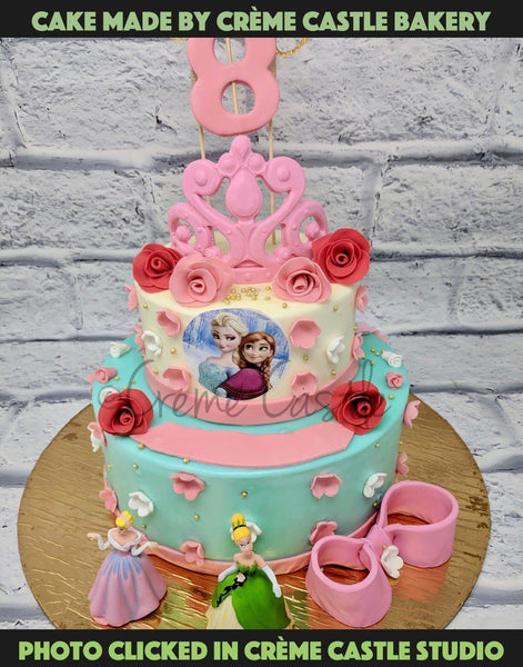 Princess Theme Cake - cremecastle