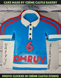 Indian Jersey Theme Cake - cremecastle