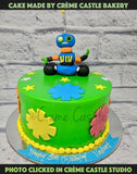 Cakes best suited for kids who are crazy fans of Robots, Vir the robot and Wall-E.