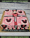 Minnie mouse cake - cremecastle