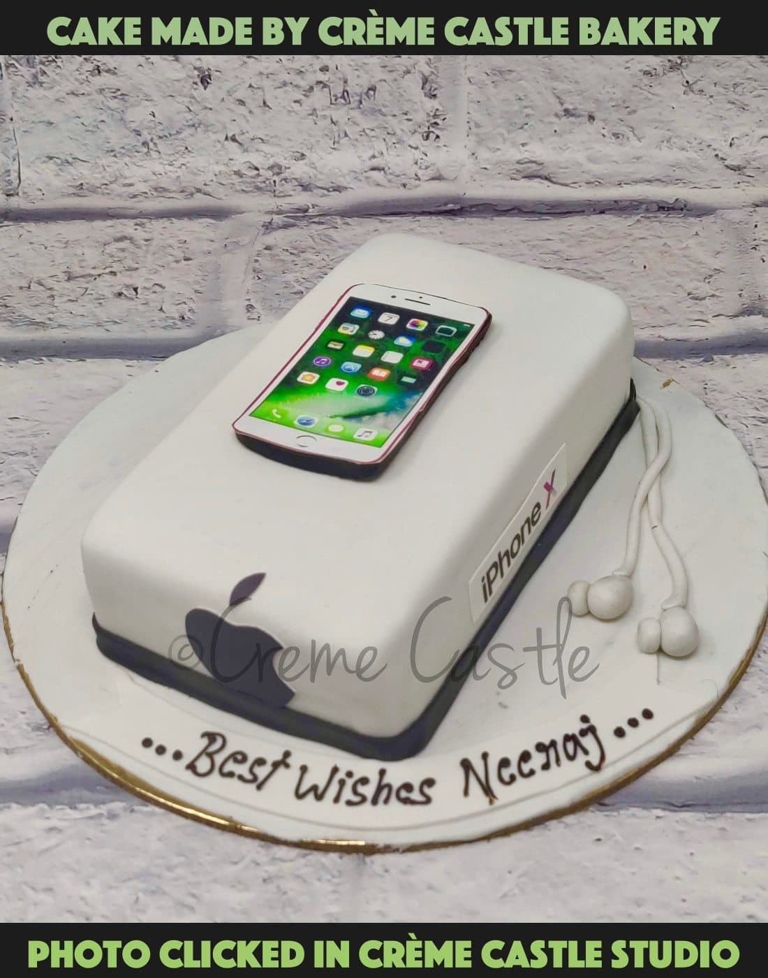 iPhone Lover Cake - cremecastle