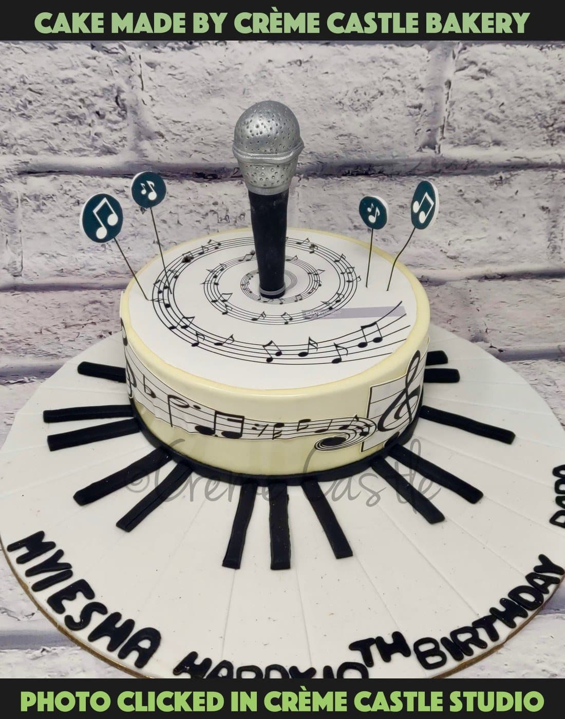Cake For Musician - cremecastle