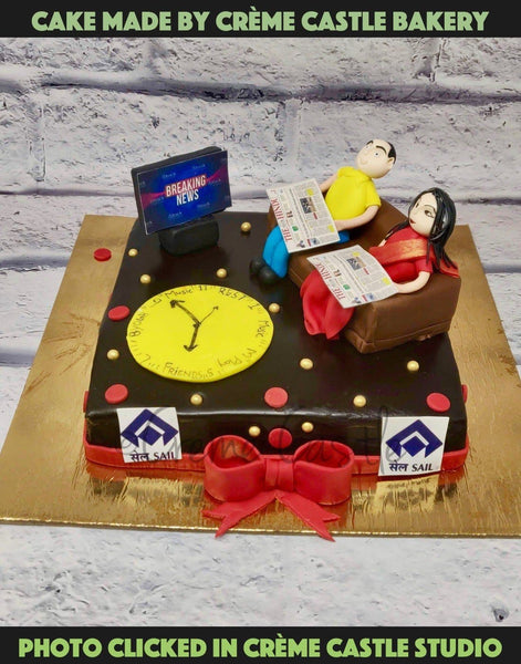 Cake For Parents - cremecastle