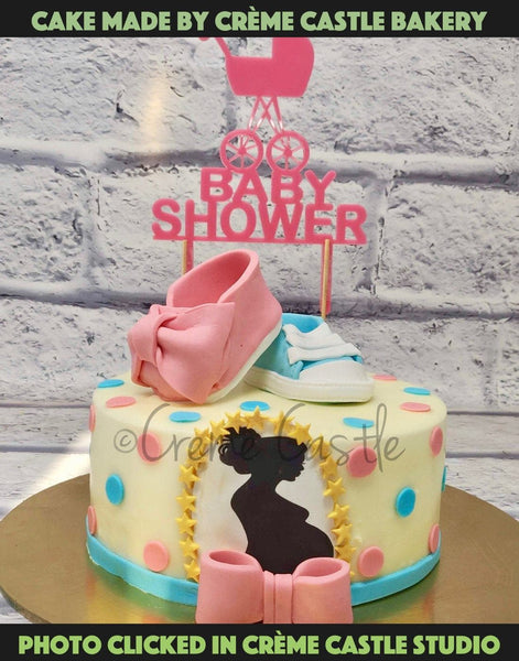Baby Shower Cake - cremecastle