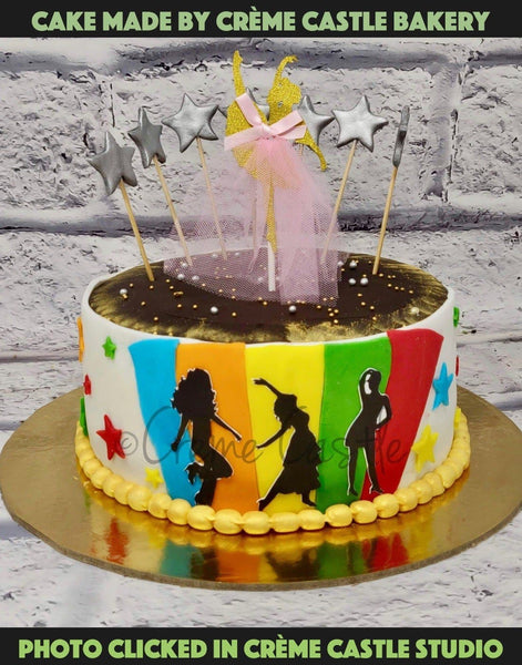 Dance Lover Cake - cremecastle