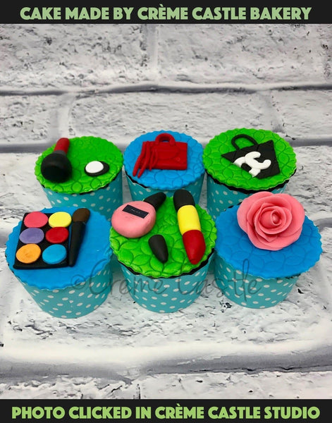 Fashion cupcakes - cremecastle