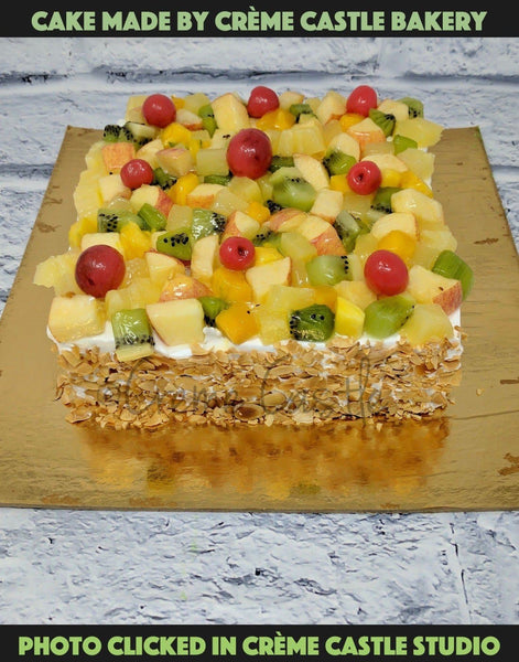 Seasonal Fruit Gateaux - cremecastle